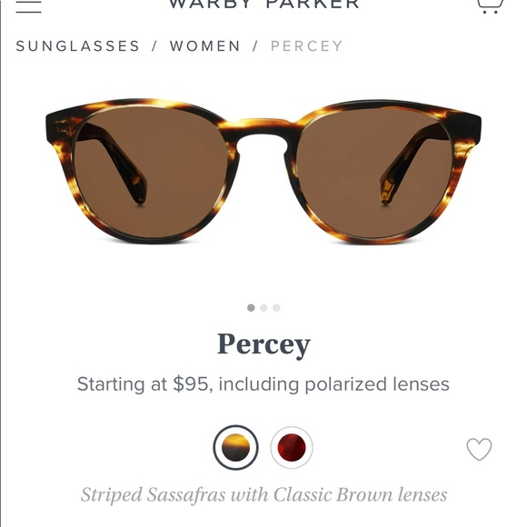 9ba98da4c8 Warby Parker Percey tortoise sunglasses. M 5a8c53e31dffda22737970de